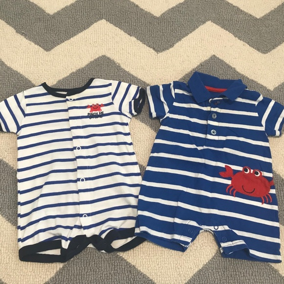 74b581a989ac Carter's One Pieces | Baby Boy Carters Romper Lot Size 3 Months ...